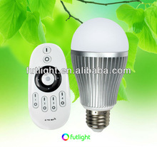 High quality newest smart home solution 9W led wifi lighting,smart home remote control color change led bulb light