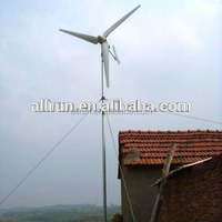 New low price horizon vertical small windmill 3kw home wind power generator