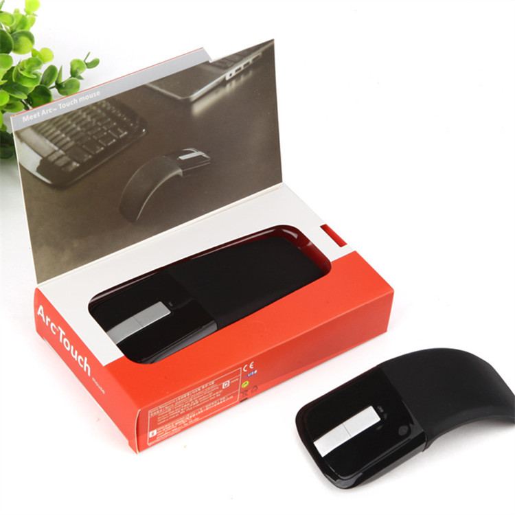 Shenzhen High quality hot selling arc touch wireless folding mouse, fashion mouse