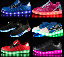 2017 New design APP control high quality Led Shoes dropshipping