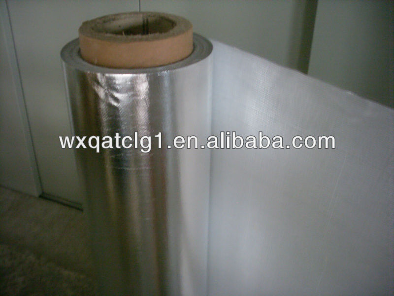 Aluminum foil glass fiber fabric,well pipe covers