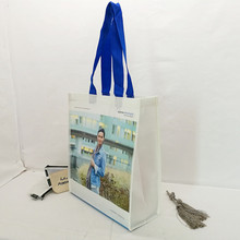 Recycled durable laminated rpet shopping bag