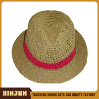 China Hat Panama Straw paper vase hat