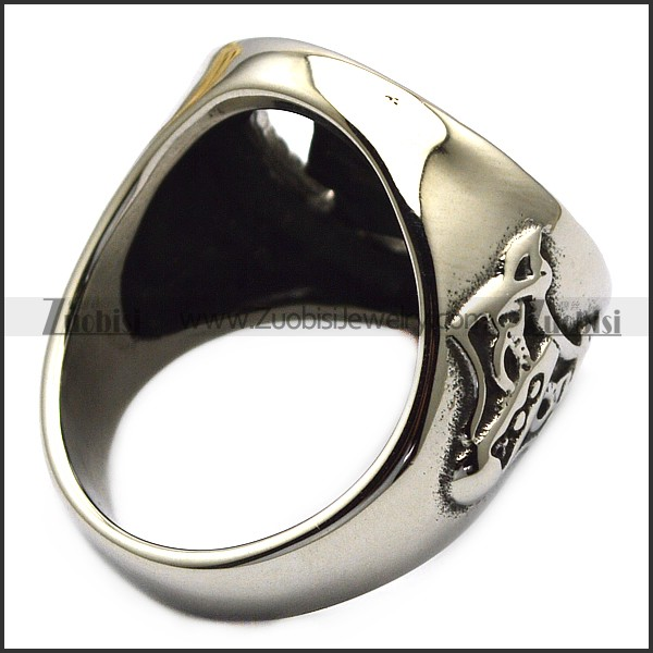 Nordic Warriors Odin Symbol Viking Rings with Animal Wolf Head wholesale viking jewelry manufacturers