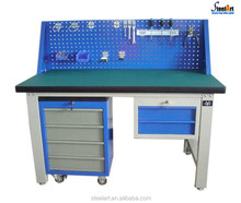 New design garage steel workbenches with drawers
