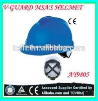 CE EN397 cheapest helmet construction MSA'SV Style safety helmet industrial hard hat