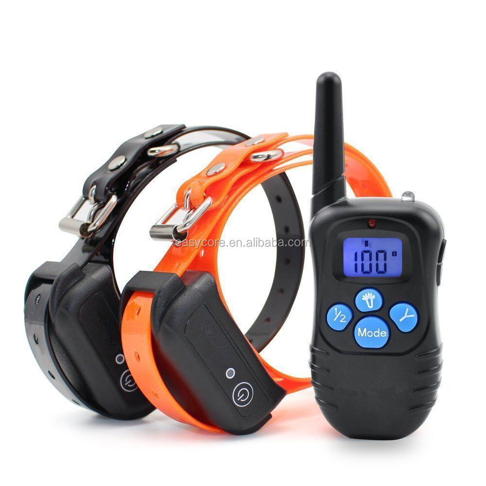 Rechargeable Remote Pet Training Collar Dog Cat Training collar with remote