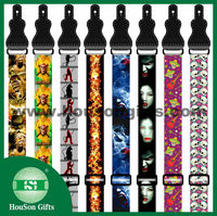 Newest design Customized printing neck guitar belt guitar strap