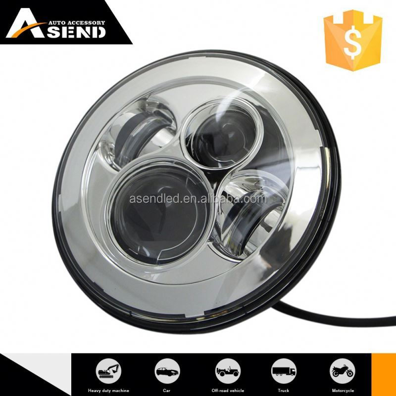 Opening Sale High-End Handmade Make To Order Water Proof Led Headlight With Halo Ring For Jeep Wrangler