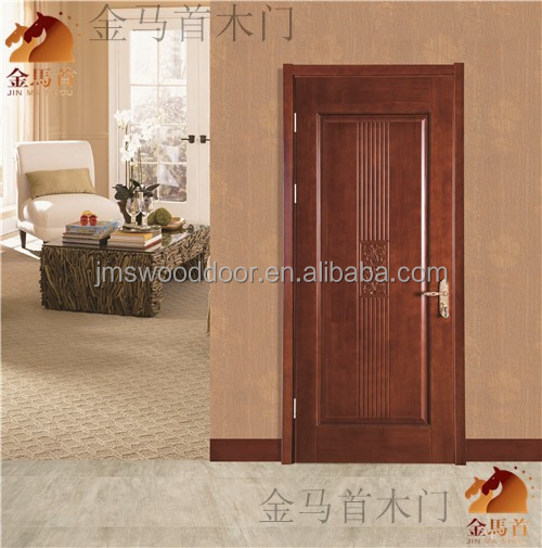 High Quality!! 2016 Solid Wood Panel Door Designs for Bedroom Interior Use