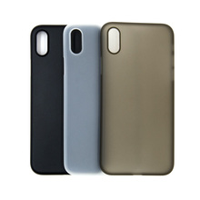 0.4mm ultra thin pp cell phone case for iPhone X