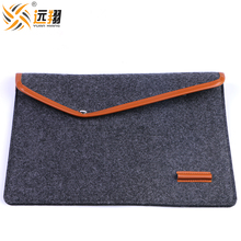 Business style cheap laptop bag felt sleeve bag for Macbook