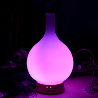 electric home use frosted glass aroma diffuser home fragrance diffuser wild sage scent