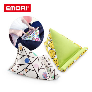 Hot Sale Cute Pattern Microfiber Lazy Mobile Phone Holder Bed