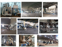agriclutural biomass crop , wood and straw pellet mill production line