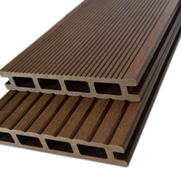 High Quality Swimming Pool WPC Decking Outdoor Waterproof Engineered Wood Flooring