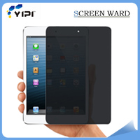New Premium!!! 0.6mm Anti Spy Shield Film Privacy Screen Protector For Ipad Mini 4, Holographic Screen Protector/