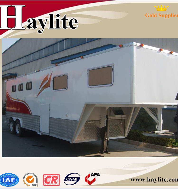 Gooseneck horse trailer used horse trailer with living quarters .jpg