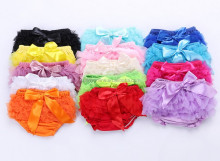 Cute Kids Underwear For Girls Cartoon Children Baby Underwear Shorts Kids Lace Bowkmot Panties Kids Underwear Q0576