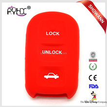 3 Button Remote Car Key Case Silicone Flip Car Key Shell for Toyota Runner smart key cover