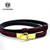 Vintage Belts For Women Couple Gold