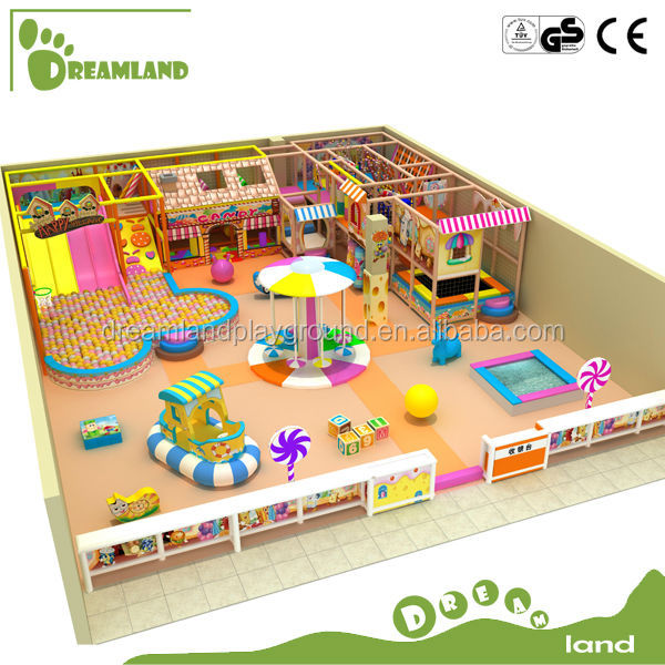 Installation provided dreamland commercial indoor used daycare equipment