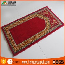 Fashion designed non slip dubai prayer carpet mosque for prayer room