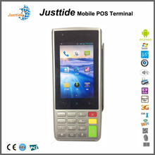 china supplier touch screen pos system with fingerprint reader and qr code scanner