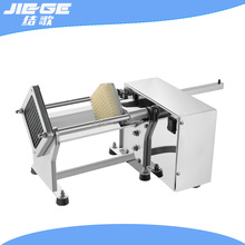 Hotel die-casting aluminum potato french fries cutting machine