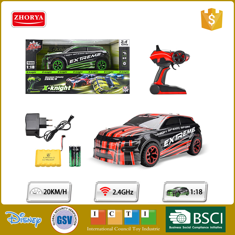 Zhorya 20 km per hour high speed rc toy radio control stunt car