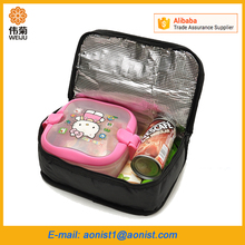 Insulated Picnic kids school box Cooler Bag Nylon Lunch Thermal Bags for Food