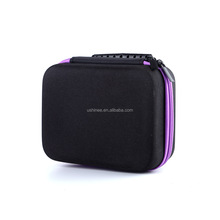Wholesale Durable Protective EVA Hard Shell Zipper Essential Oil Carrying Case