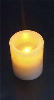 "Golden Wheat Timer Candles-3""x5"""