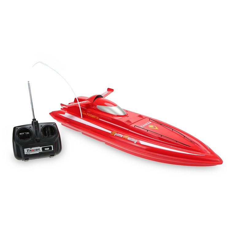 5933332-40MHz Radio Controlled 3CH 7.2V Electric High Powered High Speed RC Boat