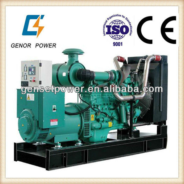 Water Cooled 55kw to 560kw AC Power Electric Generator Manufacturers