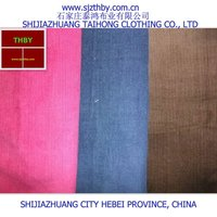 100% cotton different kinds of stretch corduroy pants fabric for men