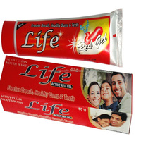Life Red Gel