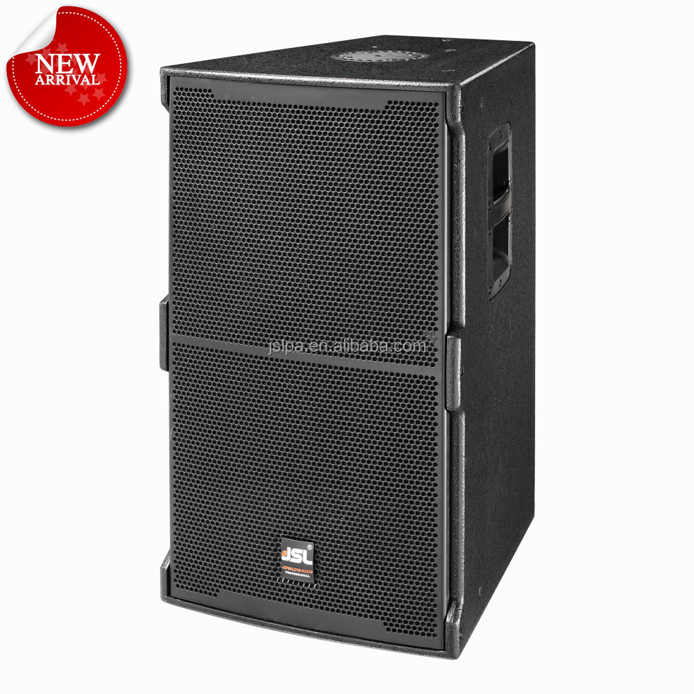 conference sound system 15inch active pa speaker