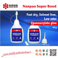 All purpose 502 Super glue Cyanoacrylate adhesive in 50g