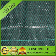 PP woven Agriculture Black Plastic Ground Cover / Mulching Film