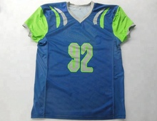 Custom sublimated club American football jersey