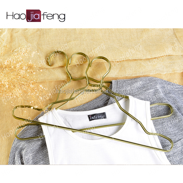 HJF-SC1 ISO9001 Fashional Beautiful outdoor clothes hanger dryer cloths hangers for super shop pull down clothes hanger