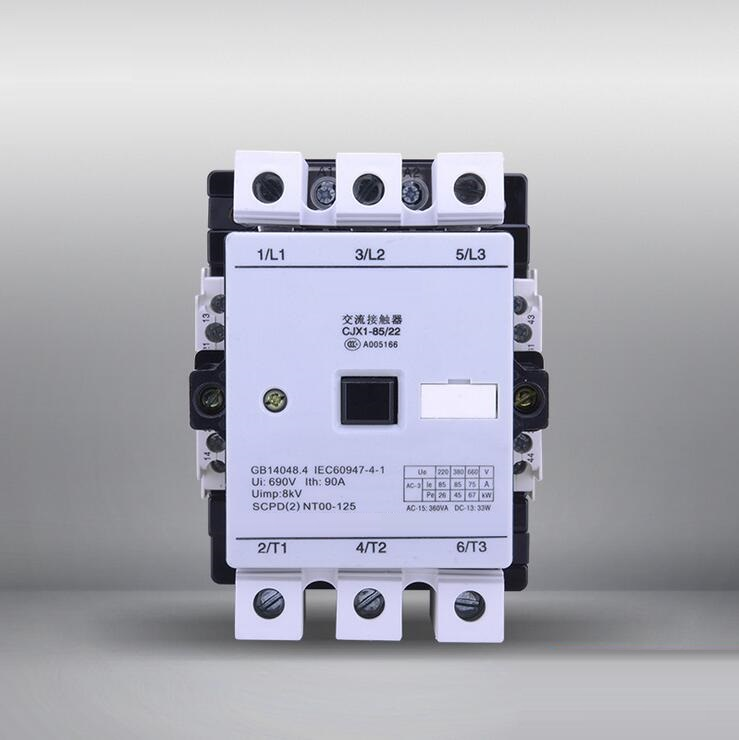 high quality CJX1-85 ac magnetic electrical contactor