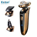 Kemei KM-363 Men's Grooming Kit Product with Electric Shaver, Nose Trimmer and Sideburn Cutter in One