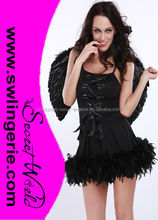 Sexy Angel Fairy Tale Costume Lingerie 1335-black