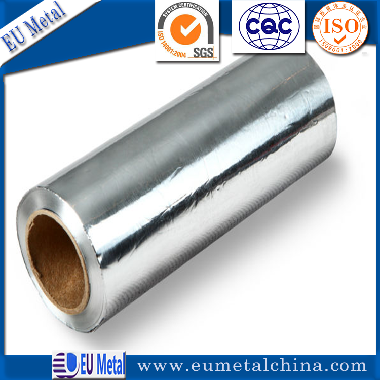 8011 1235 3003 5micron to 30 micron soft plain of Packaging aluminum foil for pharmacy