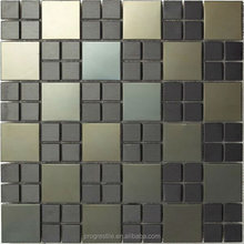 Stainless Steel material mosaic, metal tile mosaics(SA072-16#)