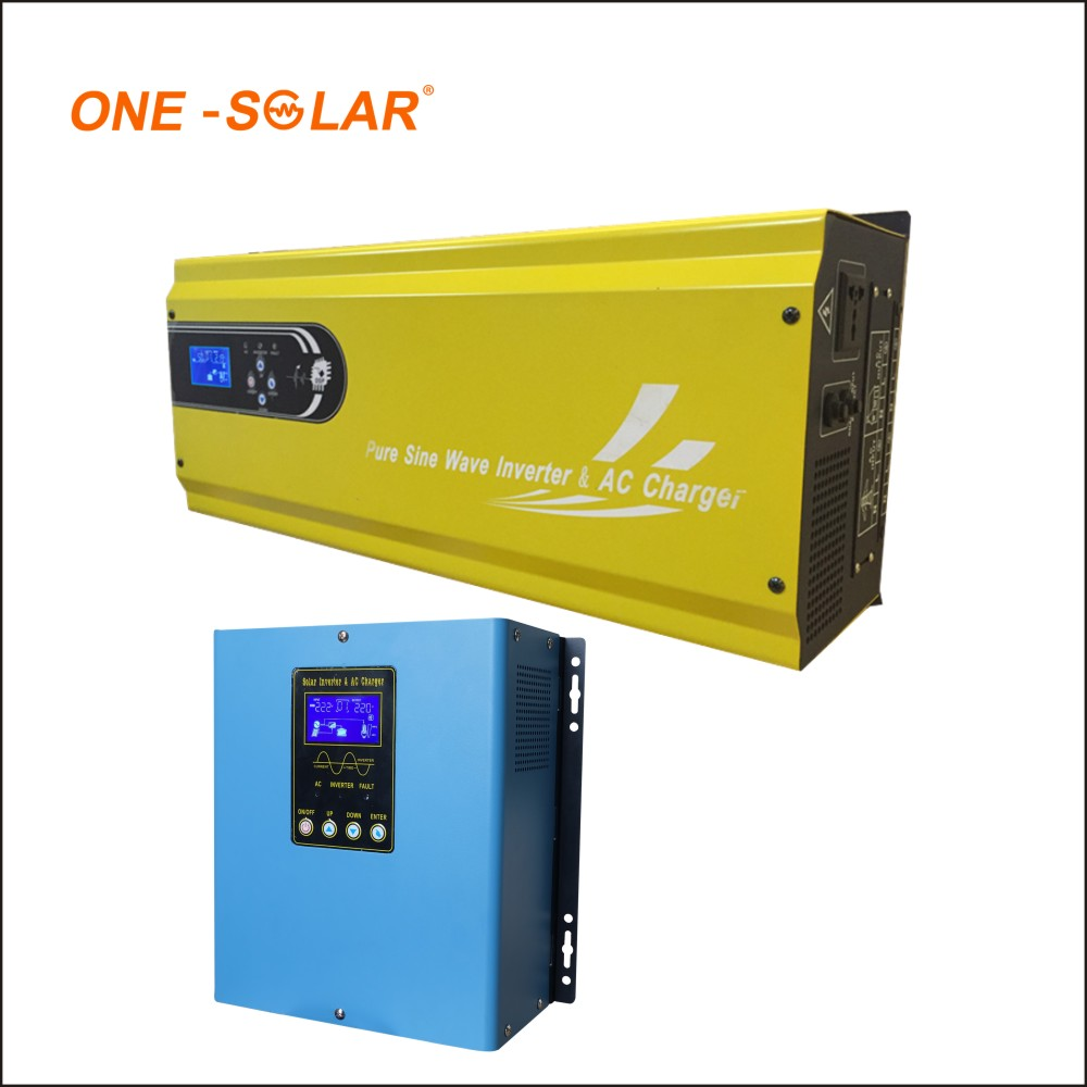 Off grid low frequency dc to ac Solar Inverter Online pure sine wave 1500w solar inverter 12v/24v 220v max power