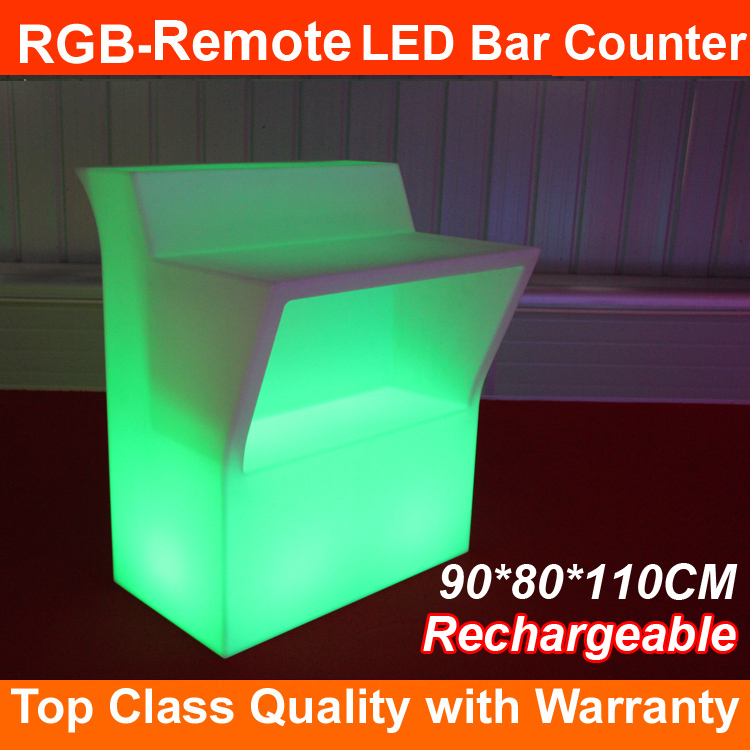 2017 Top seller CE RoHS approval led liquid bar table night club led bar counter sell well in EU