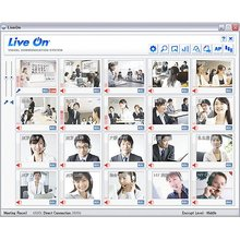 Partners welcomed. Web conferencing as IT Solution : LiveOn